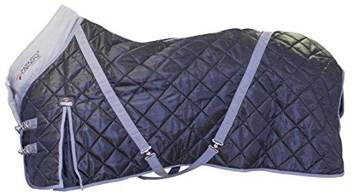 CATAGO Stable 100 g Teppich, schwarz/grau, 145 cm