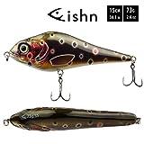 FISHN JERKYone Jerkbait – Gewicht: 73g – Länge: 15cm, Wobbler, Hechtwobbler, Kunstköder mit...