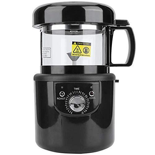 OUYA Elektrische kaffeeröster, Home 1400W Vollautomatischer Heißluft-Coffee Roaster, kein Rauch, Trennung der Spreu mit Bohnen -220V