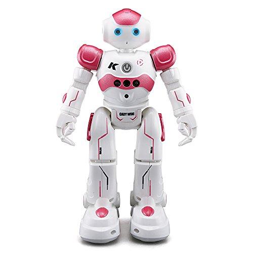 Goolsky JJR / C R2 Cady WINI Intelligente Programmierung Gestensteuerung Roboter RC Spielzeug Geschenk f¨¹r Kinder Kinder Unterhaltung (R2 Rosa)