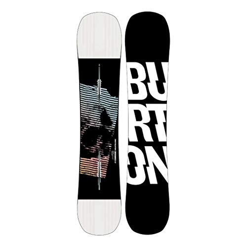 Burton Instigator - Tabla de snowboard para hombre, talla 140, color negro