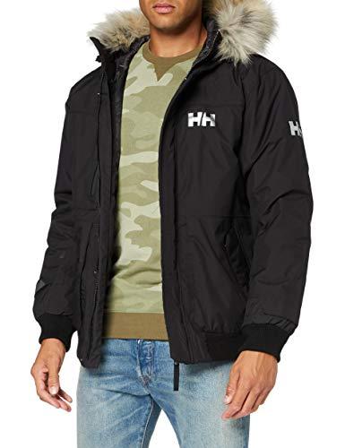 Helly Hansen Montes Bomber Jacket Chaqueta, Hombre, Negro, S