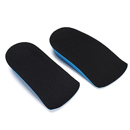 Emoshayoga Cojín para pies Almohadilla para Zapatos Transpirable para Aumentar la Altura para la Salud del pie para Soporte del pie para aliviar el Dolor(2cm)