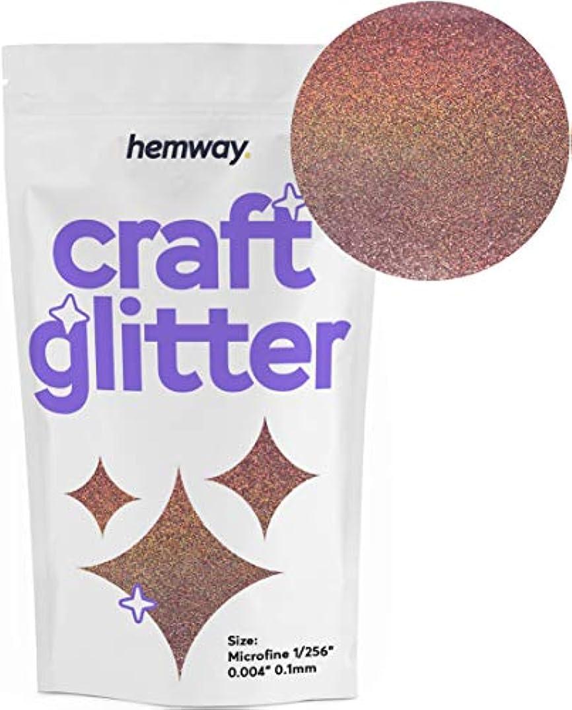 Hemway Craft Glitter 100g 3.5oz Microfine 1/256
