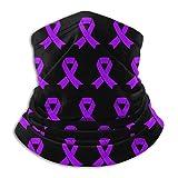XXUU Conciencia sobre el cáncer testicular Cuello bufanda caliente, mascarilla, pañuelo en la cabeza...