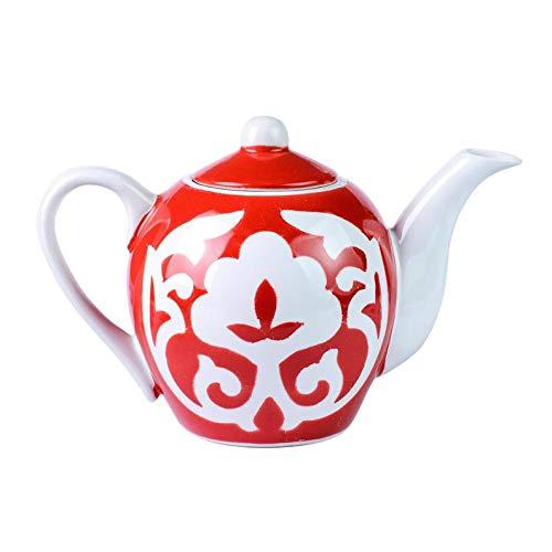 Red Teapot Not Gilded Plates Sets Ceramic Mini Ceramic Plates Uzbek Ceramic Set Ceramic Bowl Uzbek Ceramic Ceramic Set Hand Painted