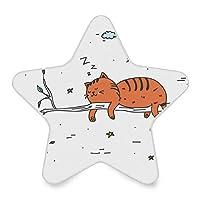 常夜灯 光センサー LEDライト 猫 夜 かわいい 星型 ベッドサイド 移動照明 寝室 廊下 階段 授乳用ライト 飾り 補助灯 省エネ 子供部屋対応 足元灯 ナイトライト
