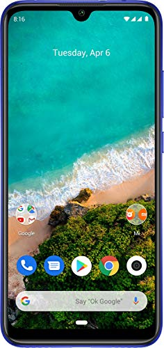 Xiaomi Mi A3 (Not Just Blue, 4GB RAM, 64GB Storage) - 6 Month No Cost EMI