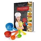 Kinderleichte Becherküche Band 3- 5 Messbecher und ein Rezeptbuch mit