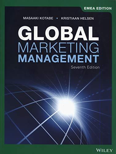 Kotabe, M: Global Marketing Management