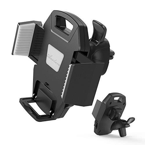Soporte Móvil Coche Avolare Soporte Universal Ajustable para Rejillas de Aire Ventilación 360 Grado Rotación Compatible con iPhone XS X 8 7 6 plus, Samsung Galaxy Note 8 S8 plus, LG y dispositivos GPS