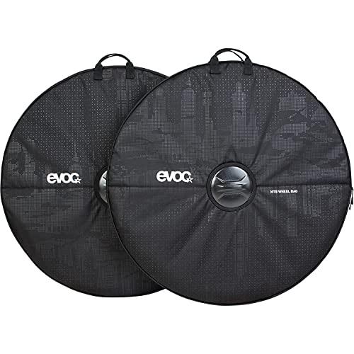 EVOC MTB WHEEL BAG Laufradtasche für Transport von Laufrädern (2 Taschen, maximaler Schutz für Laufräder & Umgebung, geeignet für <29