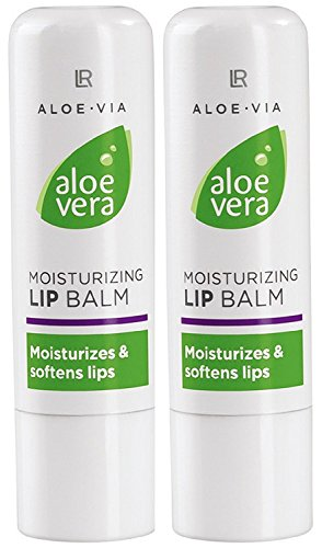 LR ALOE VIA Aloe Vera Lip Care Stick Lippenpflegestift (2x 4,8g)