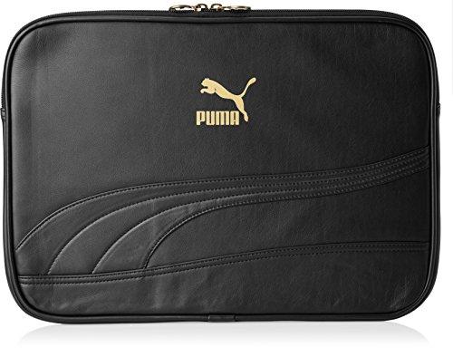 PUMA Laptop Tasche Bytes Sleeve, Black-Black, M