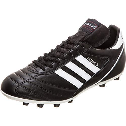 adidas - Kaiser 5, Herren Fußballschuhe,Schwarz (Black/Running White Ftw), 44 2/3 EU