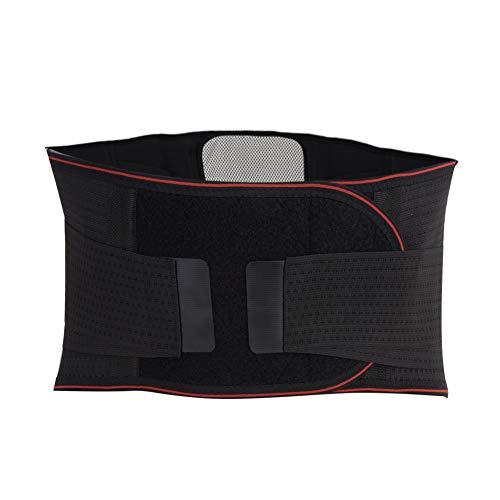 Faja Modeladora Hombre,Soporte para la espalda Cinturón de soporte para el dolor de la parte inferior de la espalda para mujeres y hombres Correr Levantar(XL) ⭐