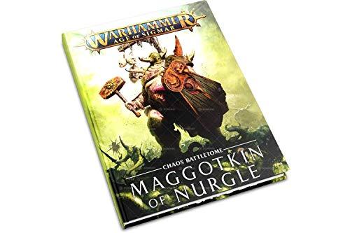 Games Workshop Battletome Maggotkin of Nurgle Age of Sigmar Hardback