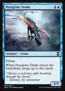 Magic The Gathering - Peregrine Drake (064/249) - Eternal Masters