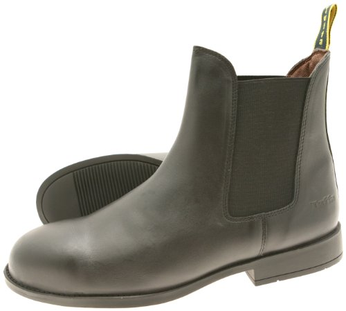 Tuffa Jodhpur-Stiefel Spartan, Stahlkappe schwarz schwarz Size 42