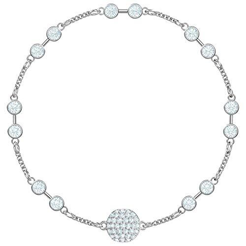 Swarovski Damen-Armreifen Edelstahl Kristall 5451031