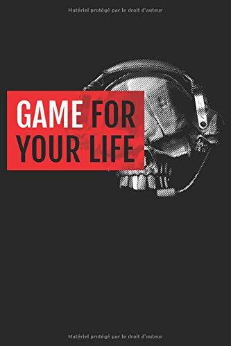 Ordinateur portable gamer pour les joueurs puissants: Format: A5 (6 x 9 pouces) • 110 pages • Grille de points • Avec numéros de page • Agenda • ... • Cahier d'exercices • Original FD-DESI