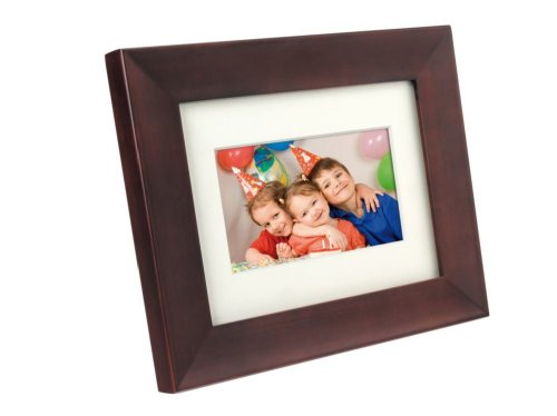 Philips Home Essentials SPF3470/G7 Digitaler Bilderrahmen 17,8 cm (7 Zoll), braun, 800 x 480 Pixel, 200 cd/m2, 350:1, 16:9, JPG)