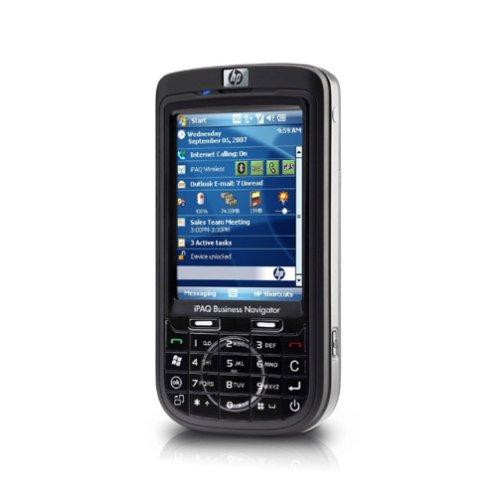 HP iPAQ 614c Business Navigator Smartphone (GPS, Quadband, Edge, WLAN, Bluetooth, QWERTZ-Tastatur, 3MP-Kamera) schwarz