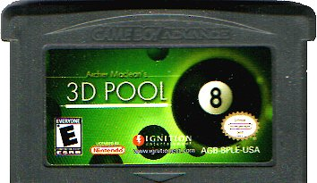 3D Pool - Gameboy Advance Game - GBA