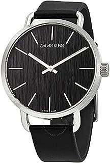 Calvin Klein Watch for Men, Quartz, Leather, K7B211C1