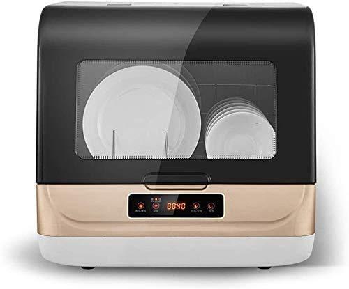 Mini Desktop Lave-vaisselle, double rotation de 360 ° en trois dimensions de pulvérisation / 70 ° C nettoyage à haute température, petite machine à plat de balai de désinfection chimiqu.