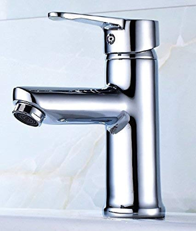 CFHJN Home Waschtischarmaturen Warmes und kaltes Kupfer-WC-Waschbecken