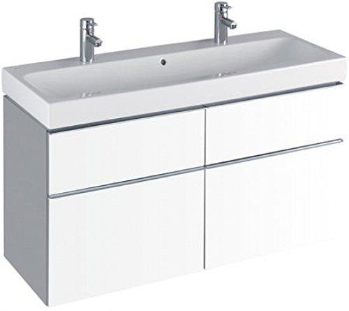 Keramag iCon Waschtischunterschrank Alpin Hochglanz