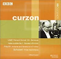 Clifford Curzon Plays by Clifford Curzon