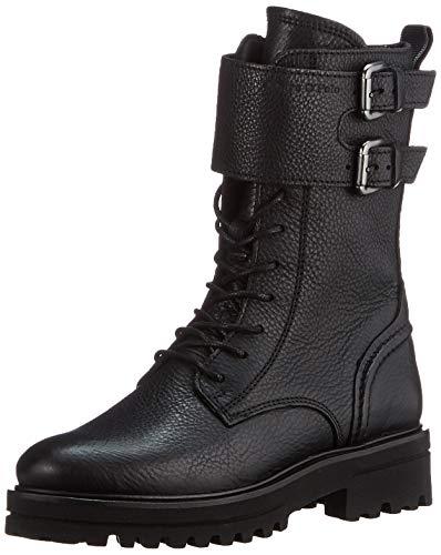 Marc O'Polo Damen 00815967303155 Oxford-Stiefel, 990 Black, 41 EU