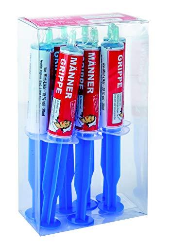 Krugmann Männergrippe in der PET-Spritze 0,02 l (1 x 7 Spritzen) Ice-Mint-Likör 15% vol
