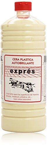 Exprés - Cera plástica autobrillante - Blanco - 1 l