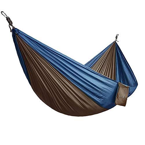 YSCYLY Hamac Suspendu avec Sac,Parachute en Nylon 320X200cm,Portable Hamac pour Le Camping, randonnée, Kayak et de Voyage