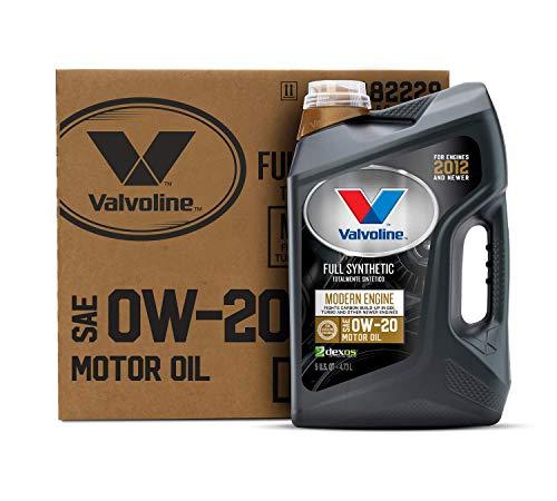 Valvoline Modern Engine SAE 0W-20 Full Synthetic Motor Oil 5 QT, Case of 3