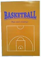 バスケットボール 戦略レポート用紙 ハーフコート+罫線