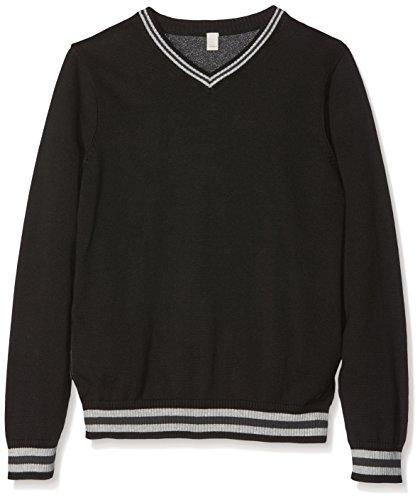 Esprit Kids Baby Jungen RI1804G Pullover, Schwarz (BLACK 001), One size (Herstellergröße: S)