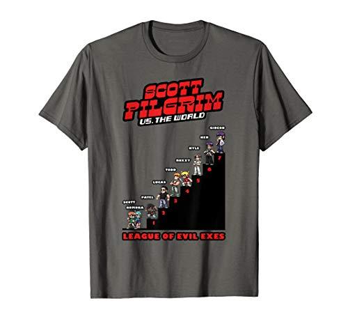 Scott Pilgrim Vs. The World League Of Evil Exes T-Shirt