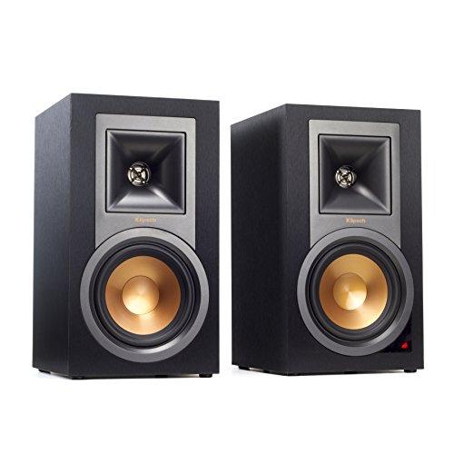 Klipsch R-15PM - Altavoces de estantería (MP3, 50 W RMS), Color Negro