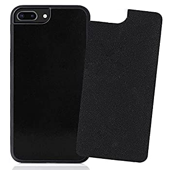 CloudValley Anti Gravity Phone Case for iPhone 7 Plus iPhone 8 Plus and iPhone 6 Plus Magical Nano can Stick to Glass Tile and Smooth Surfaces