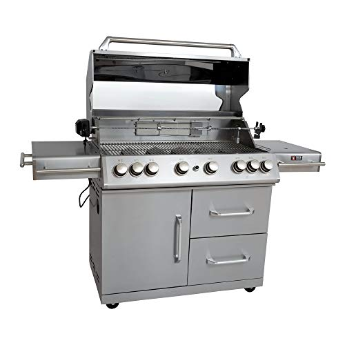 Mayer Barbecue ZUNDA Gasgrill MGG-362 Master mit Backburner