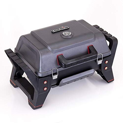 Char-Broil X200 Grill2Go – Portable Barbecue Grill with TRU-Infrared™ technology, Grey| Cast aluminium.