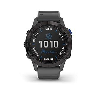 Garmin Fenix 6S Pro Solar, Premium Multisport GPS Smartwatch, Amethyst Steel With Shale Grey Band (B08CZR2233) | Amazon price tracker / tracking, Amazon price history charts, Amazon price watches, Amazon price drop alerts
