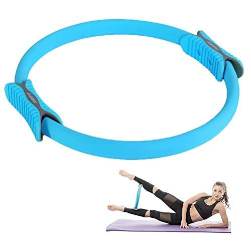 JJZD Breast Enhancing Yoga Circle - Pula Strength Resistance Core Balance Exercise Ring (Size : 86)