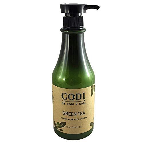 Codi Green Tea Hand & Body Lotion 750ml/25oz
