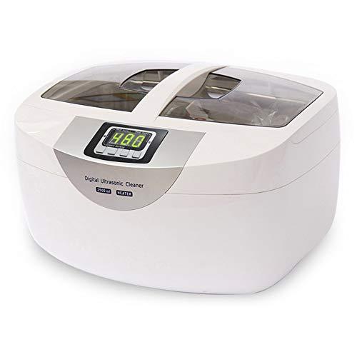 TXOZ-Q Limpiador 2.5L ultrasónico digital - hortalizas, alimentos desintoxicación de la máquina, for la joyería Relojes de limpieza dental, Mute limpiador ultrasónico vegetal (60W)