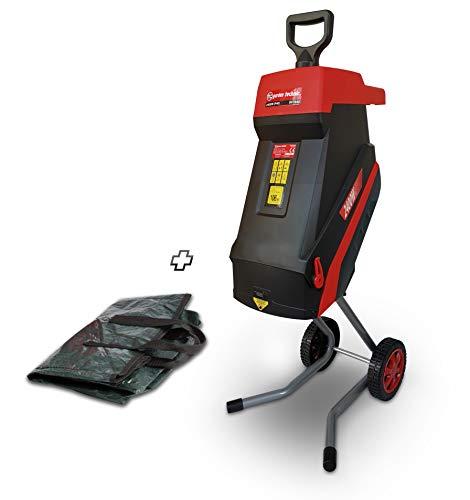 ELEM Garden Technic Triturador eléctrico 2400 W con Ruedas, diámetro de Corte máximo 45 milímetros